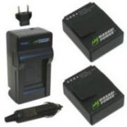 Зарядка-кроватка для аккумуляторов GoPro Hero 3 + 2 аккумулятора...