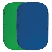 Fujimi Фон складной (хромакей 150x200 синий/зеленый)