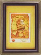 """Фоторамка Pioneer """"Debora"""", цвет: золотистый, темно-коричневый, 10 x..."""