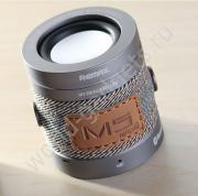Колонка REMAX Bluetooth RB-M5 (серебряный)