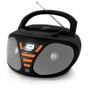Аудиомагнитола BBK BX180U черный/оранжевый (BBK BX180U...