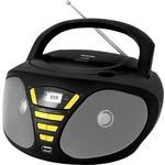 Магнитола BBK BX180U black/yellow
