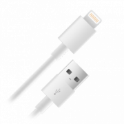 Кабель Nobby 003-001 USB-s8pin (Lightning) для Apple 1m белый