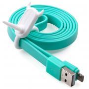 Аксессуар MOMAX USB/microUSB GO Link 1m Blue