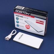 Внешний аккумулятор ROBITON POWER BANK LP3.2-W, ультратонкий