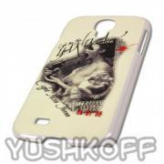 Yakuza Smartphone Galaxy S4 Hardshell Cover YCB 258 Lady white