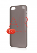 Чехол-накладка Artske для iPhone 5C Air Soft case Чёрный