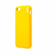 Чехол-накладка Artske для iPhone 5C Jelly case Жёлтый