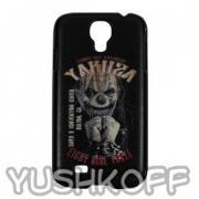 Yakuza Handy Hardcase Samsung S4 YCB 256 Clown schwarz
