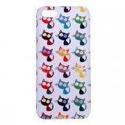 Mitya Veselkov Цветные кошки в ряд чехол для Apple iPhone 5/5s
