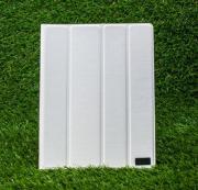 Белый кожаный чехол для iPad 2/3/4 Fenice Creativo Leather Case