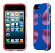 Чехол-накладка для iPhone 5/5s/5SE Speck CandySheel Grip Blue/Red