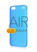 Чехол-накладка Artske для iPhone 5C Air Soft case Голубой