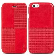 Чехол для iPhone 6 / iPhone 6s Hoco Crystal Fashion Folder Red