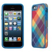 Чехол для iPhone 5/5s Speck Candy Shell Rainbow Rhombus Case