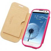 Чехол SGP Folio Leather Case Azalea Pink для Samsung Galaxy SIII