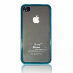 Панель iHave iPhone 4 пластиковая синяя BI0308