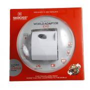 Адаптер питания Skross World Adapter Evo, белый (32452)