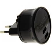 Сетевое зарядное устройство Energizer microUSB 2.1A/1A черный