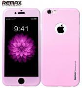 Всесторонняя защита Remax для iPhone 6 plus (розовый)