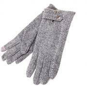 Теплые перчатки для сенсорных дисплеев СИМА-ЛЕНД Элина Grey 723093
