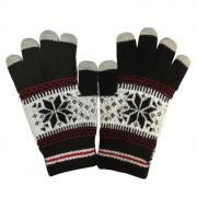 """Перчатки для сенсорных дисплеев Human Friends """"Fiver"""" черный, размер:..."""