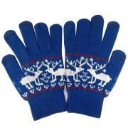 """Перчатки для сенсорных дисплеев Human Friends """"Fiver"""" синий, размер:..."""