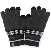 """Перчатки для сенсорных дисплеев Human Friends """"Fiver"""" серый, размер:..."""