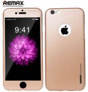 Всесторонняя защита Remax для iPhone 6 plus (золотой)