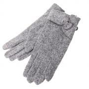 Теплые перчатки для сенсорных дисплеев СИМА-ЛЕНД Элина Grey 723090