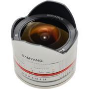 Объектив Samyang Samsung NX MF 8 mm F/2.8 UMC Fish-eye II Silver