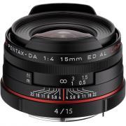 Объектив Pentax DA 15mm f/4 ED AL HD Limited черный