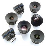 Carl Zeiss Zeiss Custom 6-Lens Compact Prime CP.2 Set