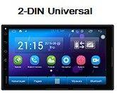 HARDSTONE PD7201 - Универсальное головное устройство 2-DIN (Universal)