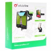 Cellular Line Crab Tablet 3 in 1 автомобильный держатель для планшета...