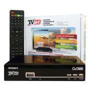 РЭМО TV Jet, Black цифровой ресивер для ТВ