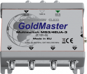 GoldMaster MS3/4EUA-3