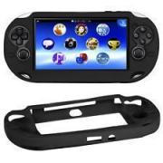 Силиконовый чехол (чёрный) (PS Vita)