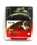 *Кабель VCOM mini HDMI to mini HDMI (19M -19M) 5m (б/у)