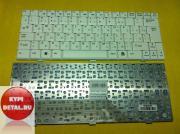 Клавиатура для ноутбука MSI U100 U90 U110 U120 белая, с русскими...