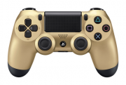 Аксессуары Sony Беспроводной джойстик DualShock 4 для PS4 Золотистый