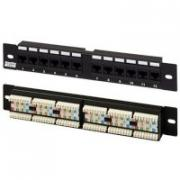"Патч-панель Hyperline PP-10-12-8P8C-C5e-110D 10"", уст. размер 254 мм,..."