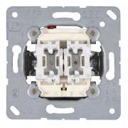 Выключатель 2-клавишный 10a Jung ECO Profi механизм (EP405U)