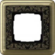 Gira ClassiX Art Бронза/Черный Рамка 1-ая (G211662)