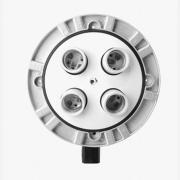 Grifon TL-4 Патрон E27 на 4 лампы со спиц.кольцом