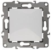"""Выключатель """"ЭРА"""", цвет: белый, серый. 12-1001"""