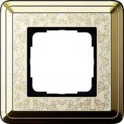 Gira ClassiX Art Латунь/Кремовый Рамка 1-ая (G211673)