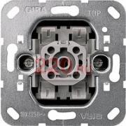 G00010800 Gira F100 Механизм выключателя 2-клавишного, с 2-х мест