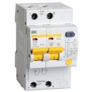 Дифференциальный автомат АД12 2P 25A 30mA ИЭК (MAD10-2-025-C-030)