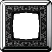 Gira ClassiX Art Хром/Черный Рамка 1-ая (G211682)